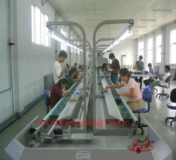 PCB自动插件线