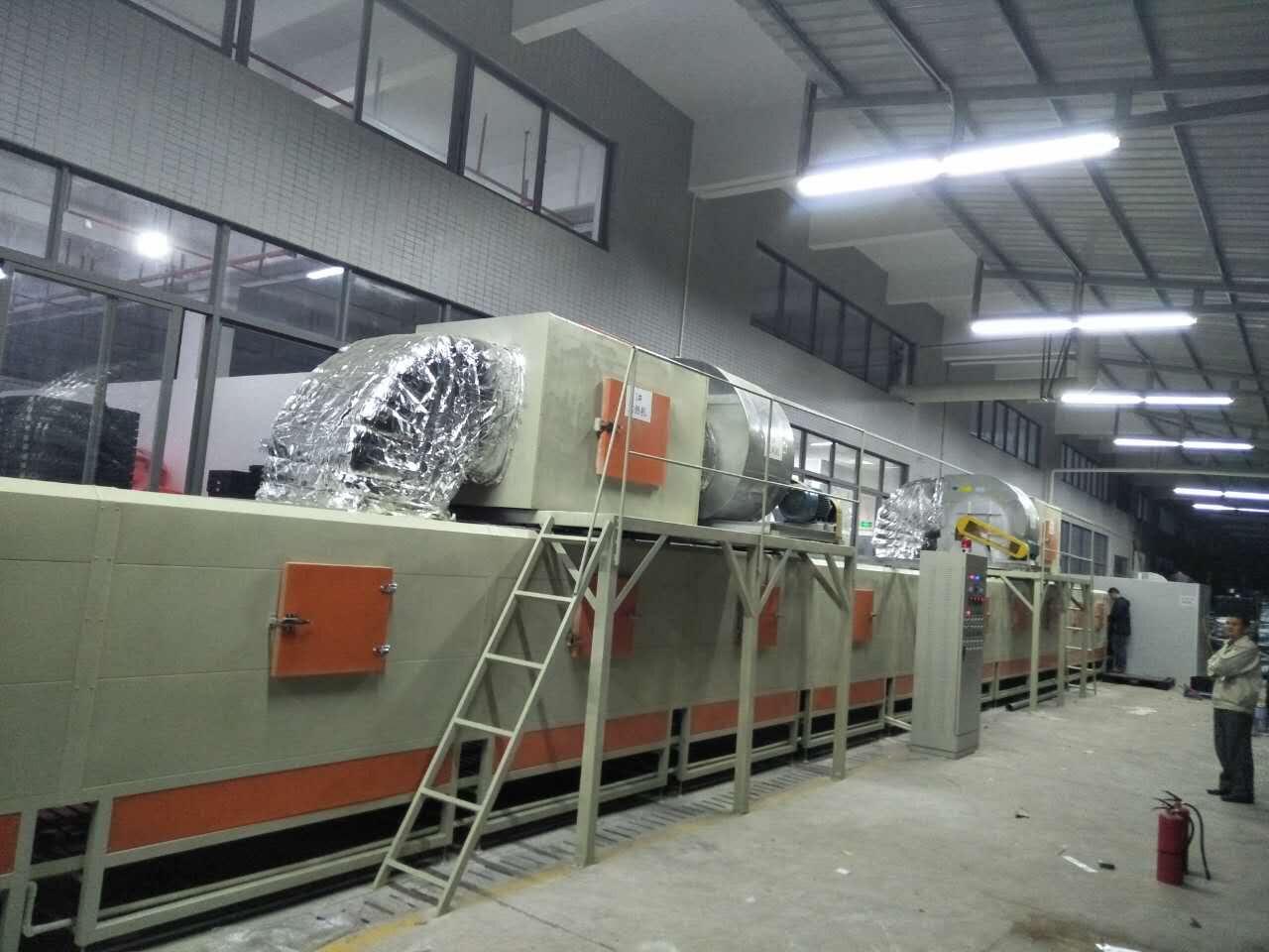 热烈庆祝TCL大型清洗烘干线投入使用!优质设备、领先制造!