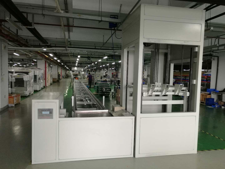 大族激光制冷机全自动组装线正式投入使用!深圳领先制造!